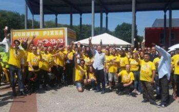 Firenze, Runner Pizza assume 200 rider e applica il contratto