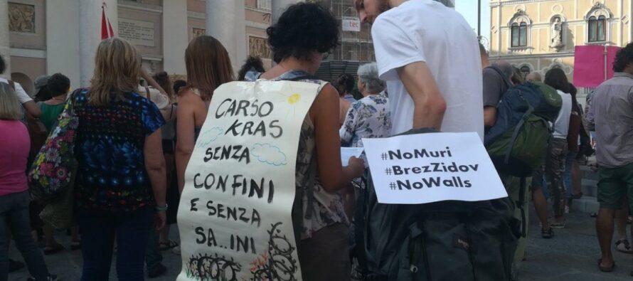Trieste.Antifascisti in piazza contro i muri e Salvini