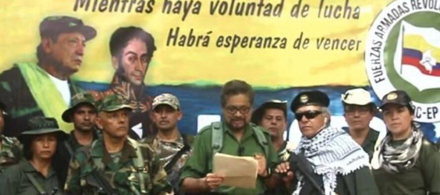 Colombia, una parte delle FARC annuncia: «Siamo costretti a riprendere le armi»