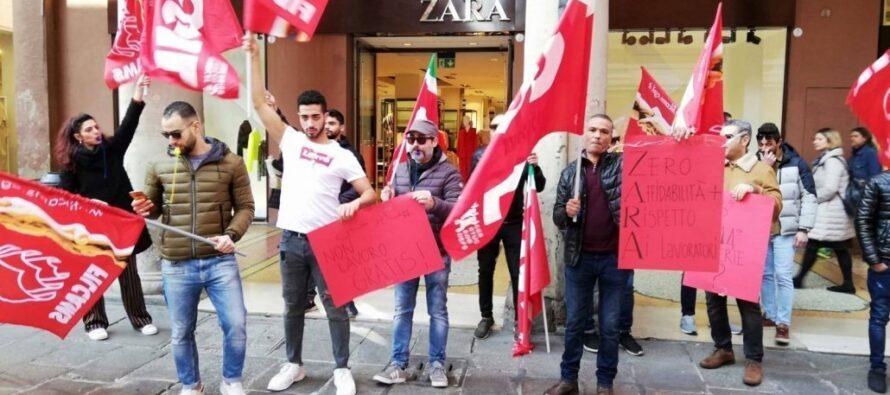 Logistica Zara, vincono i facchini delle coop: accordo e arretrati