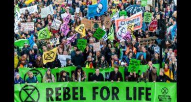 Clima.Extinction Rebellion arriva in Italia, ribellarsi è giusto