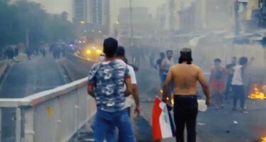 Rivolta sociale in Iraq, la polizia spara con decine di morti