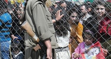 Women and children from JINWAR call you to raise up your voices and take action against this war