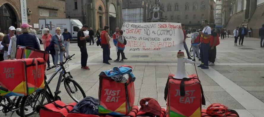 Bologna, quinto giorno di sciopero deiriders