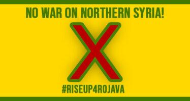 «No War» dappertutto. In piazza in solidarietà con il popolo curdo
