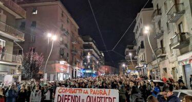 Roma.Centocelle senza paura, in corteo contro il nemico invisibile