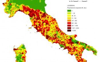 Territorio a rischio, il 91% dei Comuni italiani è in pericolo