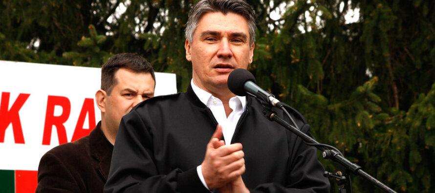 Croazia, Zoran Milanovic è il nuovo presidente