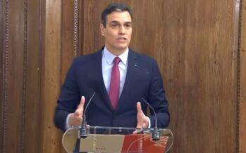 Spagna. Accordo tra Sánchez e Iglesias, in arrivo un programma di sinistra