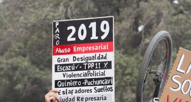 Cile, studenti in lotta contro il test classista di ingresso alle università