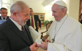Vaticano. Lula incontra papa Francesco, dialogo per «un mondo più giusto»