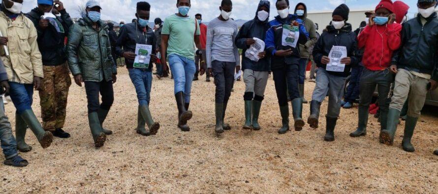 Sciopero dei braccianti: «Il governo ci deve risposte»