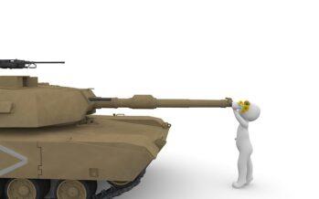 La conversione ecologica inizia dal ripudio di guerra e produzione di armi