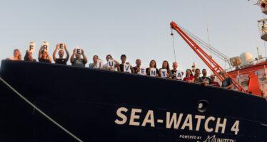 Mediterraneo.Per le navi umanitarie la palla passa alla Corte di giustizia europea