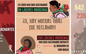 Colombia. Genocidio politico e crimini di Stato: 381 assassinati nel 2020
