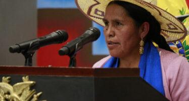 Bolivia. Sabina Orellana, ministra delle Culture, racconta la sfida del potere indigeno