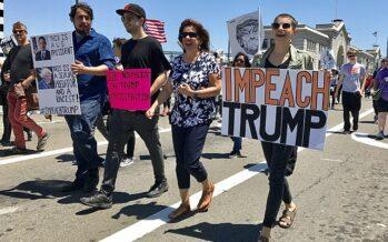Donald Trump messo in stato di accusa per incitamento all'insurrezione