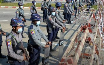 Corsi, formazione e training in Italia per i militari birmani