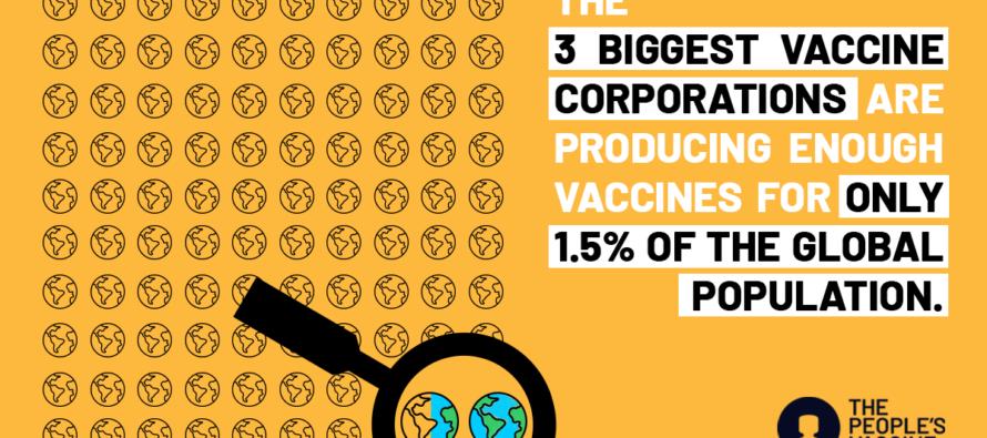 Pandemia. Oxfam Italia: «Da questa situazione si esce con lo stop ai brevetti»