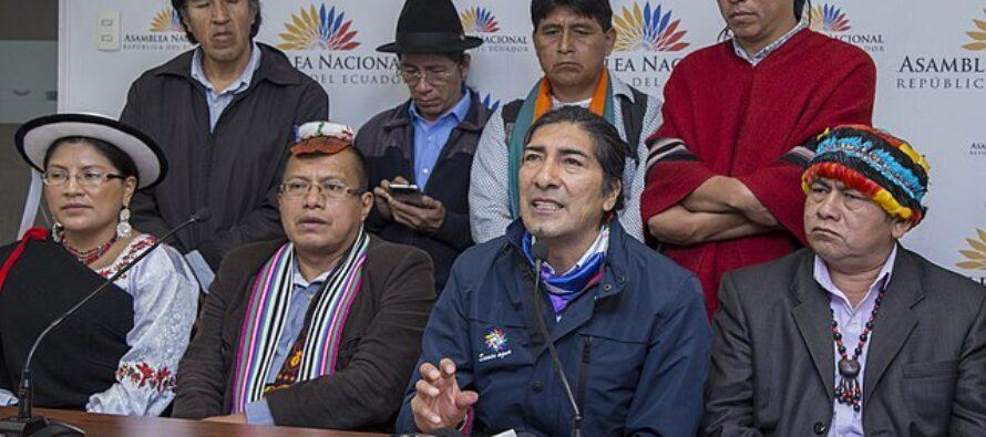 Presidenziali in Ecuador. Boom della sinisitra, un indigeno al ballottaggio