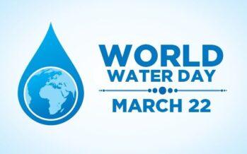 World Water Day. Allarme delle Nazione unite, l'acqua è valore e diritto pubblico