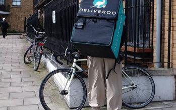 Borsa di Londra, crollo di Deliveroo dopo la lotta dei riders