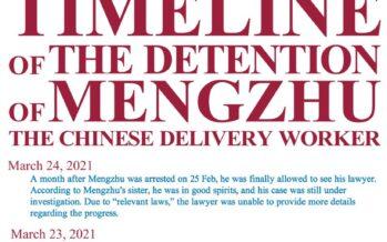 Anche in Cina i rider in lotta, arrestato il «leader»