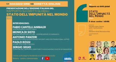 Il 17 maggio presentazione online del 18° Rapporto, da Binaria-Gruppo Abele