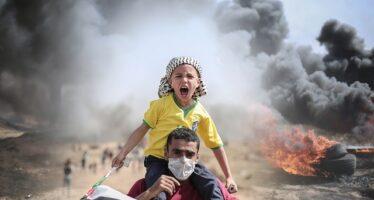 Gaza. Entra l'esercito israeliano, civili in fuga, assalti alle case arabe ad Haifa