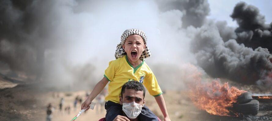 Gaza. 125 gli uccisi per metà civili, 10mila sfollati, 11 vittime anche in Cisgiordania