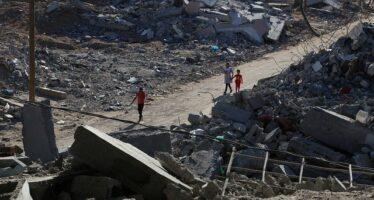 Gaza.La Striscia ferita e distrutta aspetta il copione dell'ennesima ricostruzione