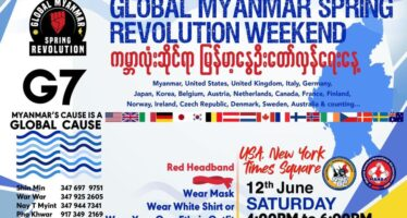 Myanmar, la mobilitazione contro la giunta golpista diventa globale