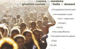 Domani sindacati in piazza: «Rimettere al centro il lavoro, Draghi sbaglia a non ascoltarci»