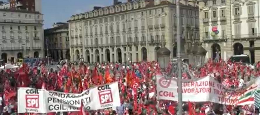La piazza sindacale contesta il governo sui licenziamenti: il blocco selettivo non basta
