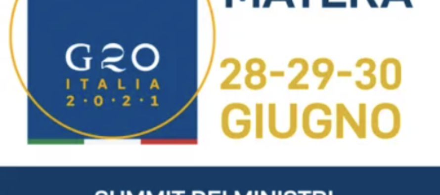"Vertice G20. A Matera nessuna visione e proposta per ""People, Planet, Prosperity"""