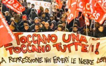 I sindacati di base in sciopero contro il governo Draghi