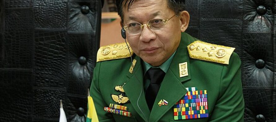 Myanmar. Il golpista Min Aung Hlaing si proclama premier, stato di emergenza sino al 2023