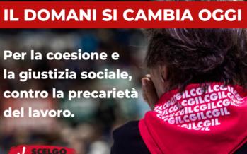 La Cgil in piazza a Milano, Landini: se Draghi non ascolta torneremo presto