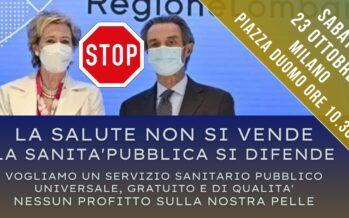 Regione Lombardia: la sanità ai privati, «è una controriforma»